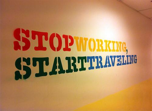 StopWorking
