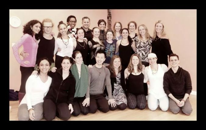 Mimi Rieger (hyperlink: mimiriegeryoga.com) put together a hand-selected group of DC-based yogis for my first yoga teacher training experience. Over the five months we went through a lot, constantly learning and reflecting together.