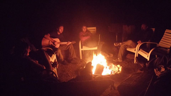 When you are being your authentic self, when you are patient, the universe provides in ways you can't expect. That's what happened on my trip to Big Sur when I was invited to live with Park Aids for two days. Sharing songs and stories around the bonfire was a highlight of my time there.